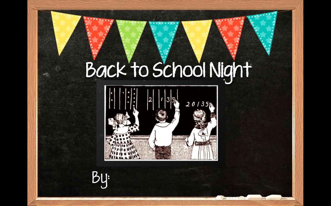 prezi back to school night editable template powerpoint