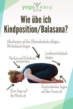 asana des monats balasana  die kindhaltung  yoga yoga