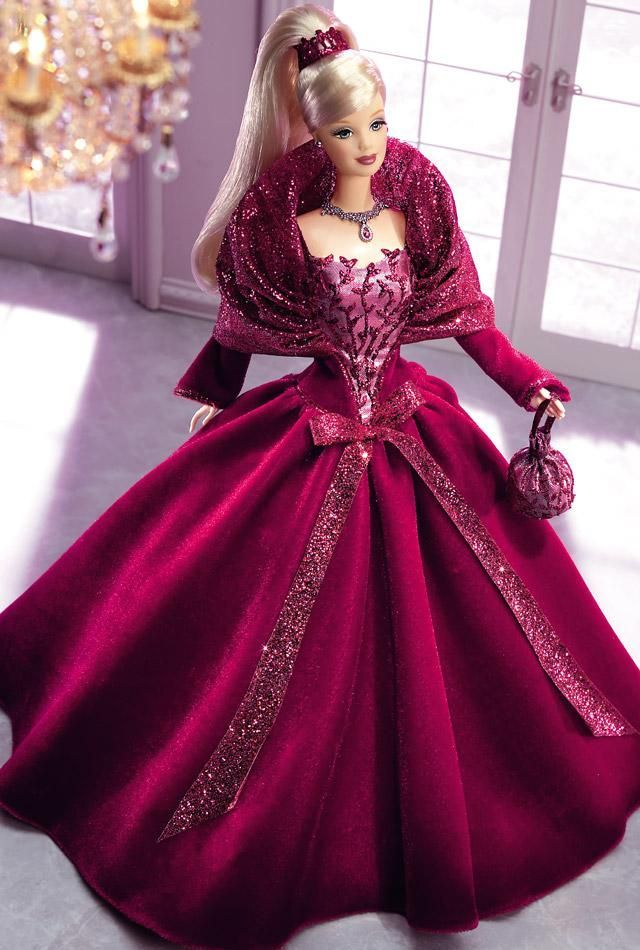 Image result for pink purple brocade doll dress