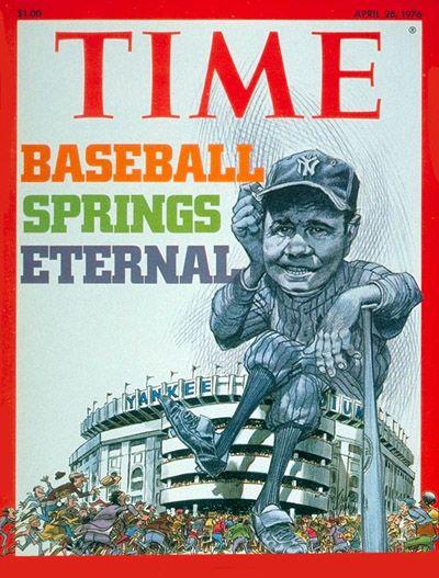 It's baseball season! | April 26, 1976