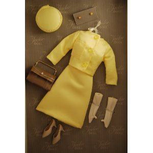 The Jackie Kennedy Doll Vive Jacqui Yellow Suit Dress