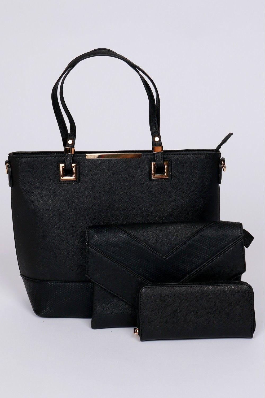 Classic Handbag Set Black 7a8aecc6d22a5
