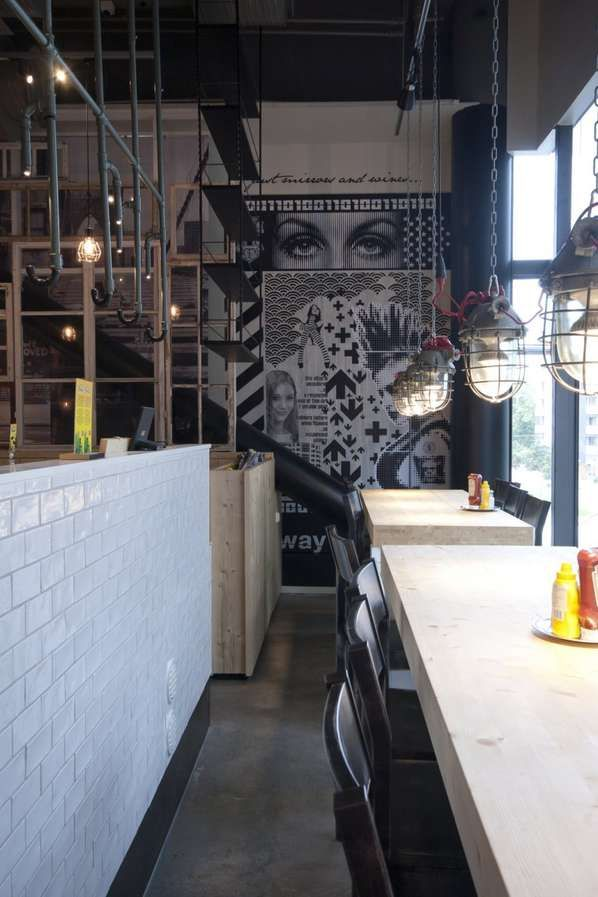 Retro, industrial and eclectic  http://www.trendhunter.com/