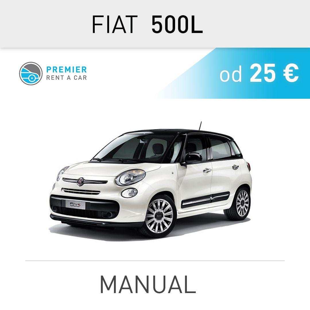 FIAT 500L - manual from 25 € / per day  Aerodrom Nikola ...