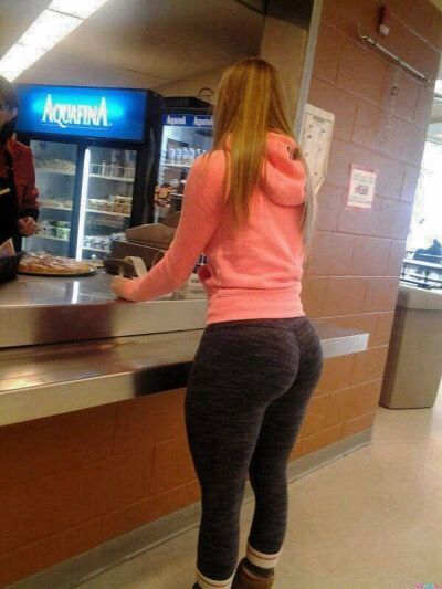 Thick White Girl The Back