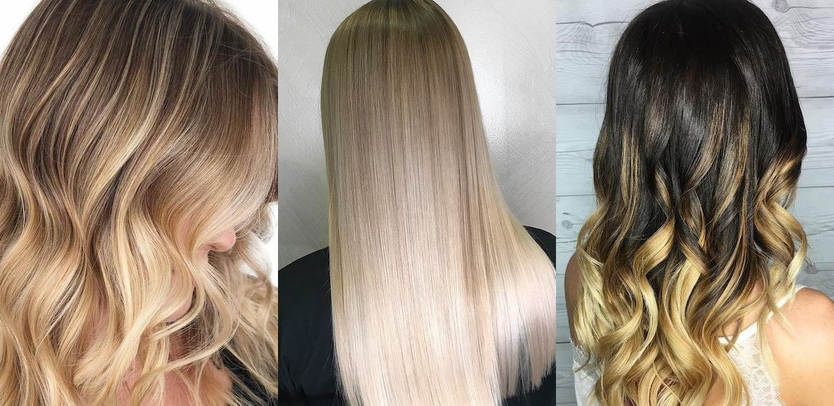 The Difference Between Balayage Ombre And Dip Dye Hair All Created Using Wella Professionals What Is Balayage Light Blonde Hair Blonde Hair Images