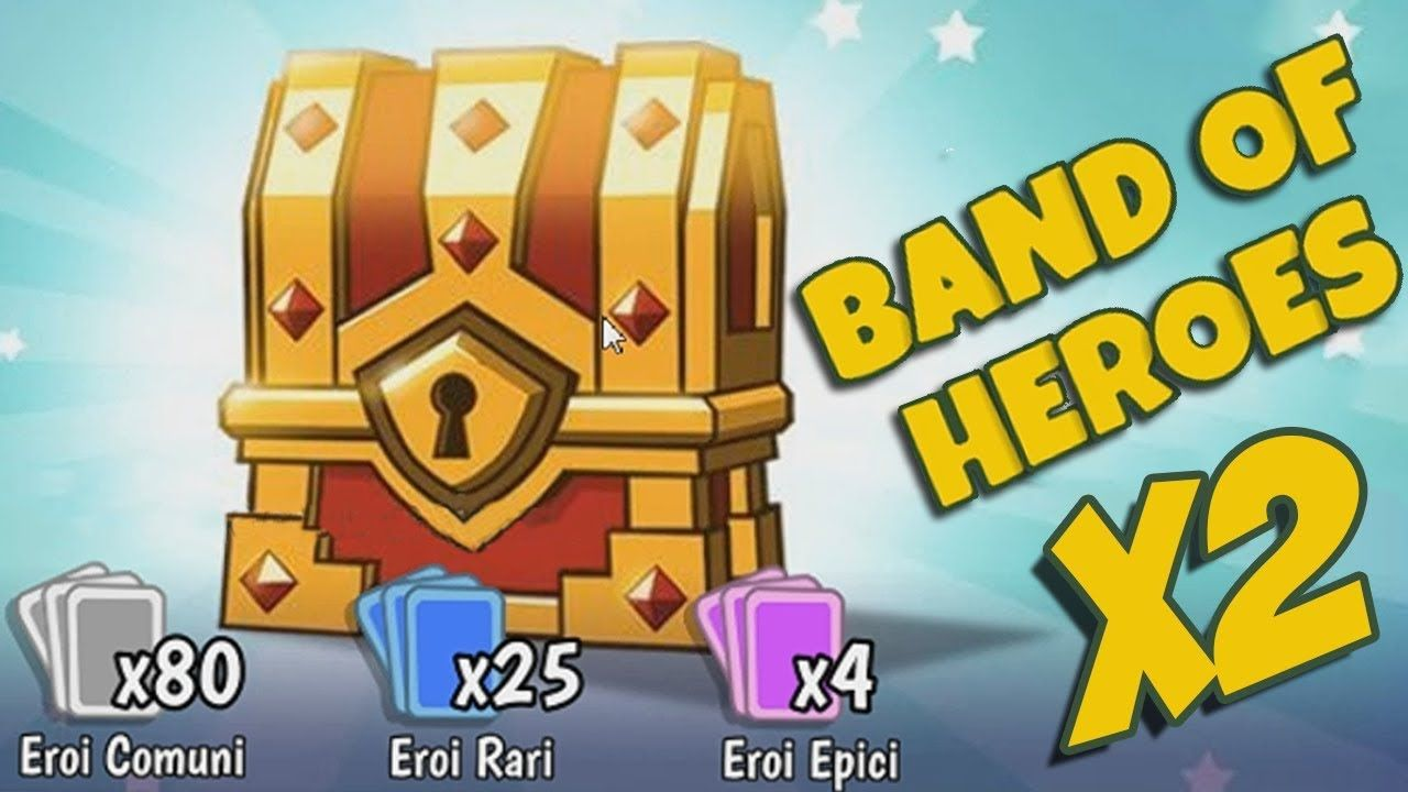 CHEST OPENING LEGGENDARIO - 2x BAND OF HEROES : 😺 What The Hen!