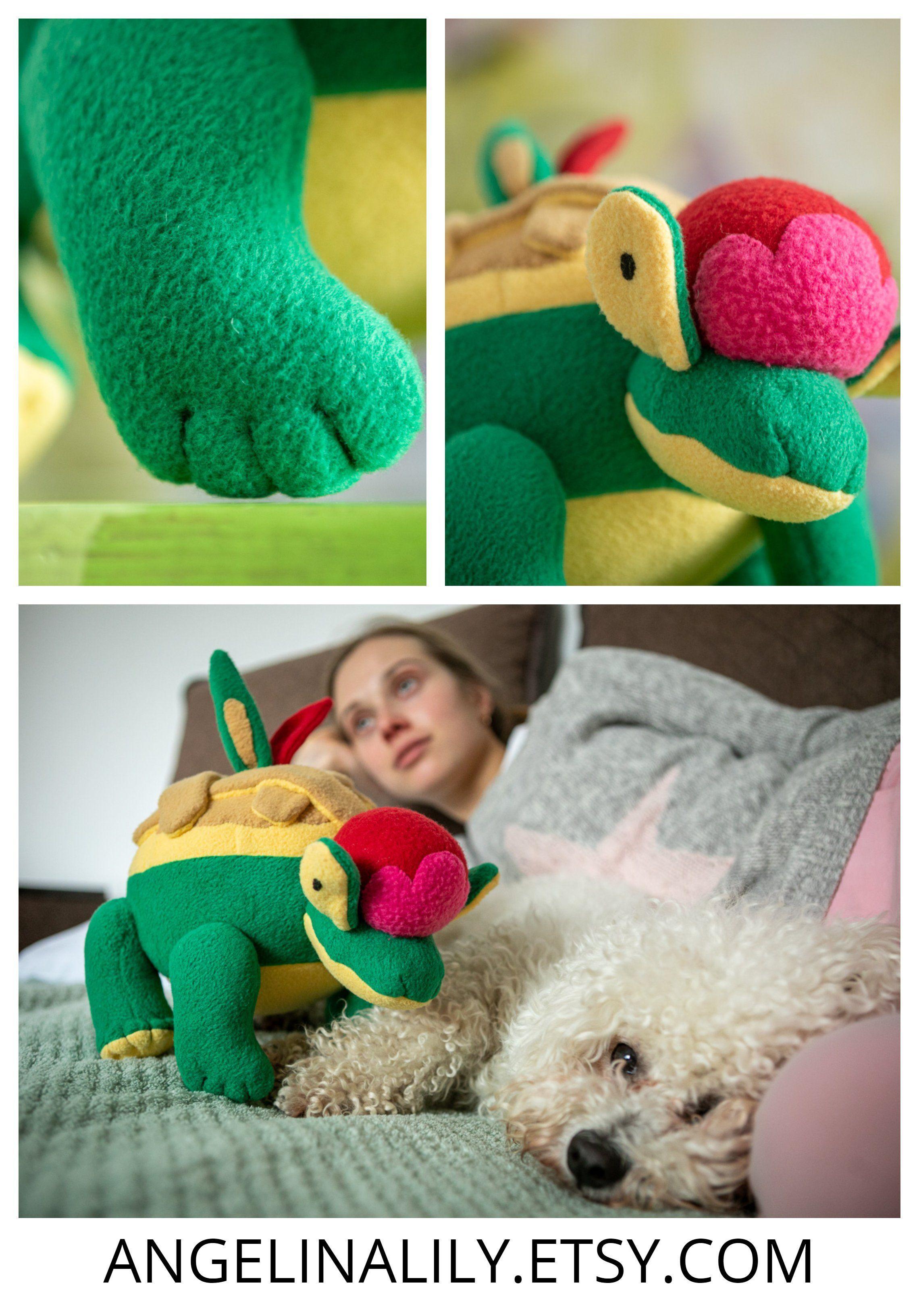 Details about  /Shiny Appletun plush Green Appleton pokemon Handmade toy