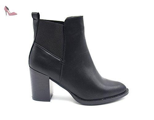 Chaussures Oh My Shop noires femme aCqBxNZF