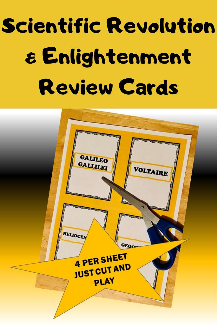 Scientific Rev Enlightenment Card Game Scientific Revolution High School World History Scientific Revolution And Enlightenment [ 1102 x 735 Pixel ]