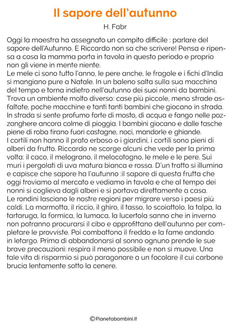 24 Dettati Sullautunno Per La Scuola Primaria Italia School