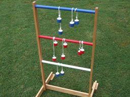 Toss Your Balls Ladder Golf Ladder Golf Backyard Games Outdoor Games