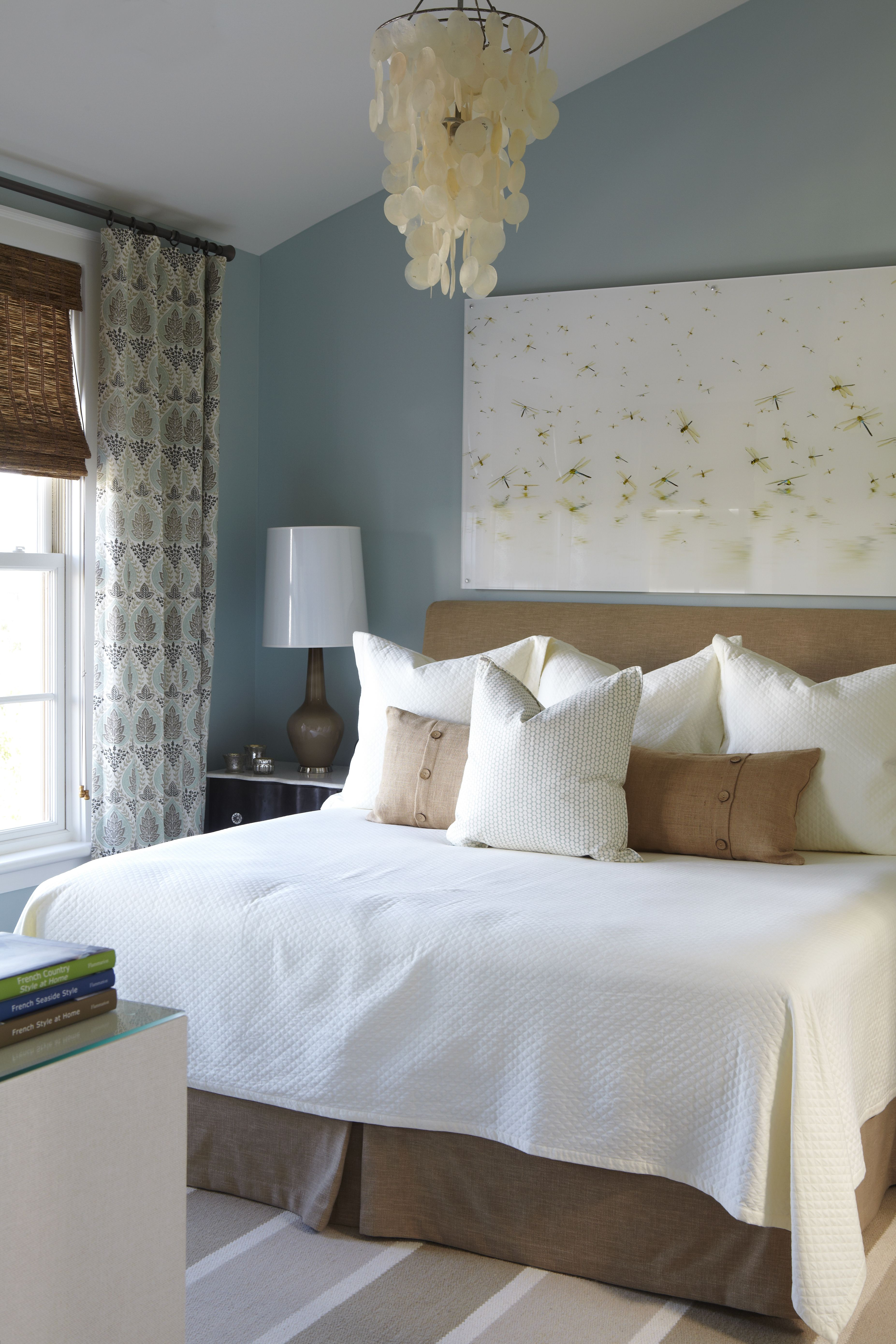 Before and After the entire home…. Home bedroom, Blue