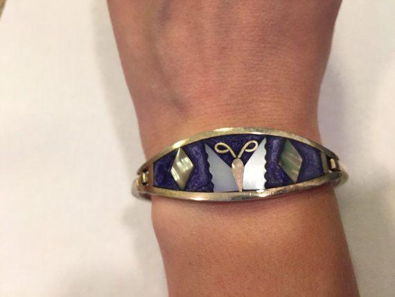 Mexican Alpaca bracelet interesting piece. Vintage Bracelet Alpaca Bracelet Vintage Alpaca bracelet Alpaca Jewellery