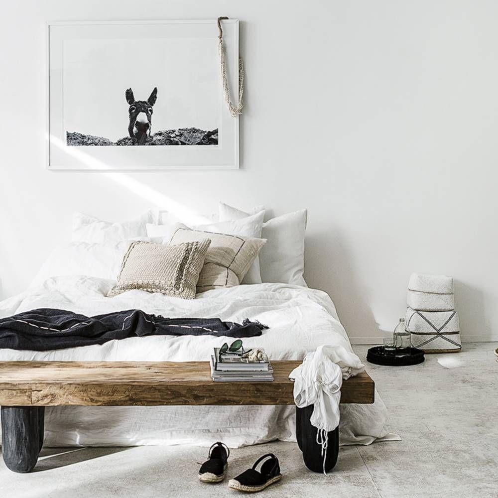 La chambre blanche en 15 façons - Elle Décoration | Chambre ...