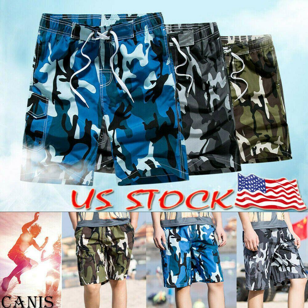 Fashion Mens Swimming Board Shorts Swim Shorts Trunks Swimwear Beach Summer New