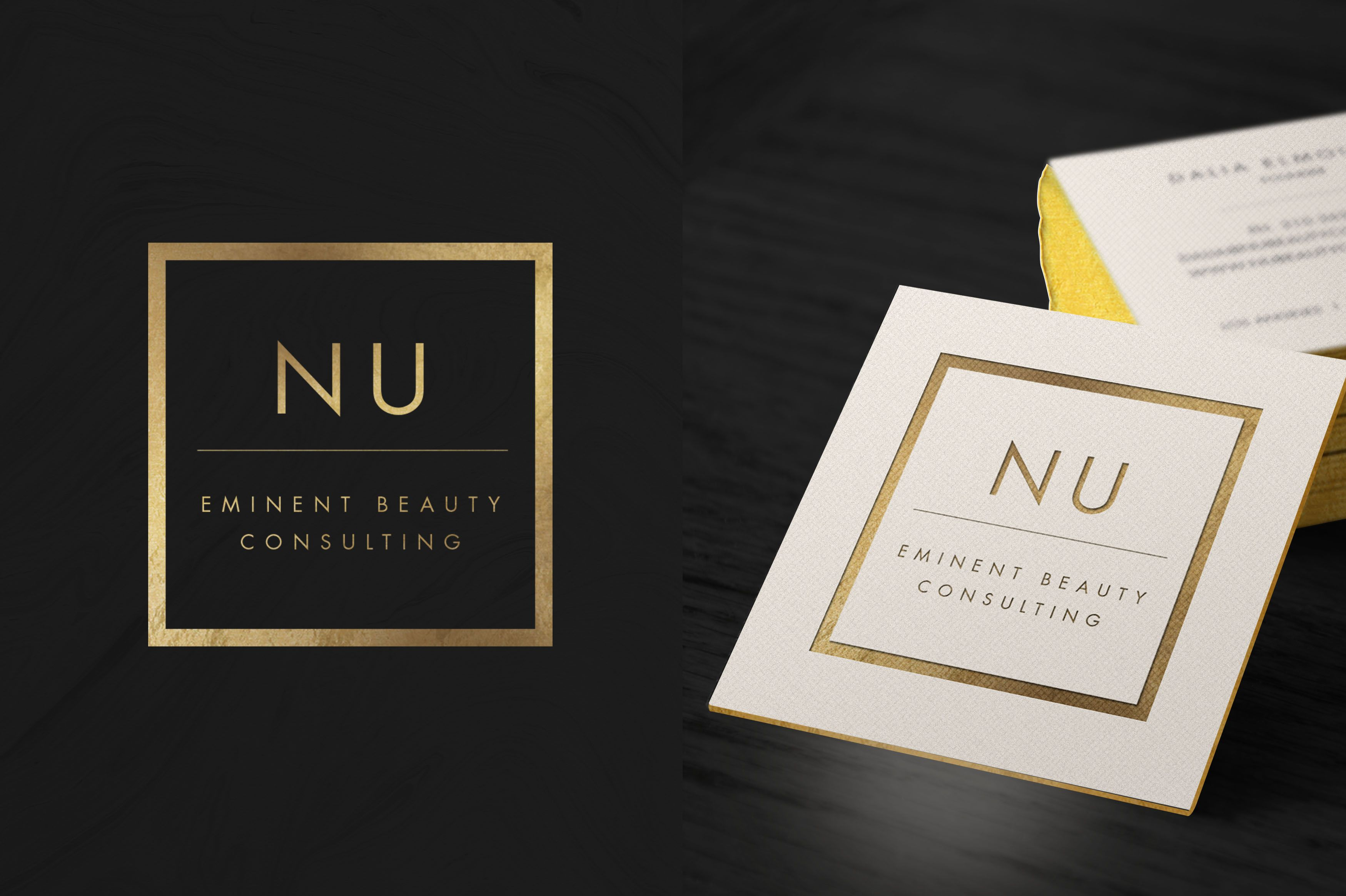 Nu beauty consultants branding luxury branding logo business nu beauty consultants branding luxury branding logo business card colourmoves