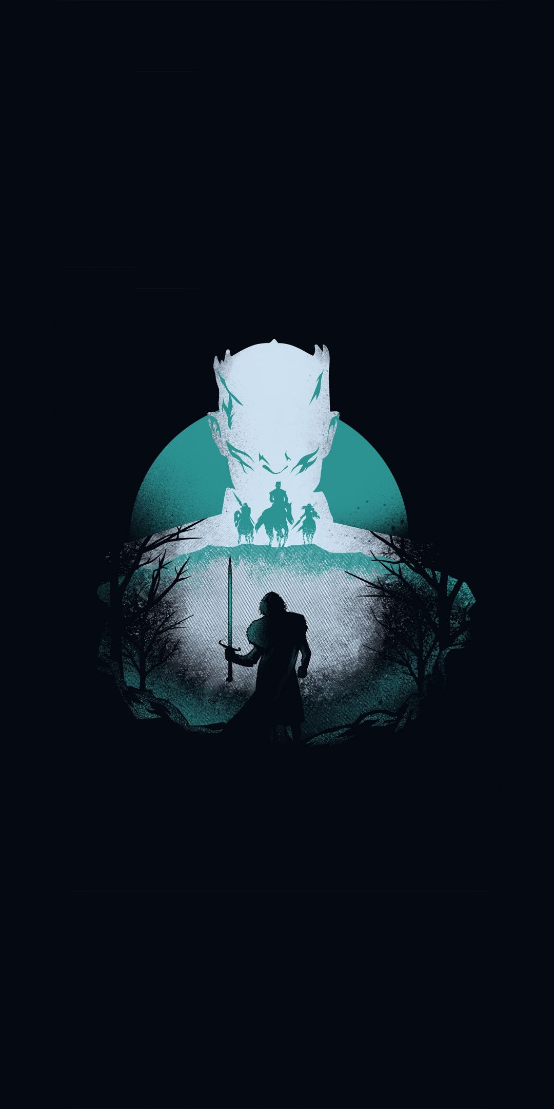 Game Of Thrones Knight King And Jon Snow Season 8 Artwork 1080x2160 Wallpaper Game Of Thrones Artwork Jon Snow Art Game Of Thrones Poster