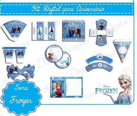 Kit imprimible de Frozen para descargar gratis   Proyectos que ...