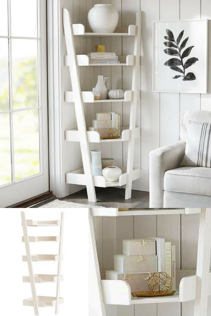 This Corner Shelf Unit Gives The