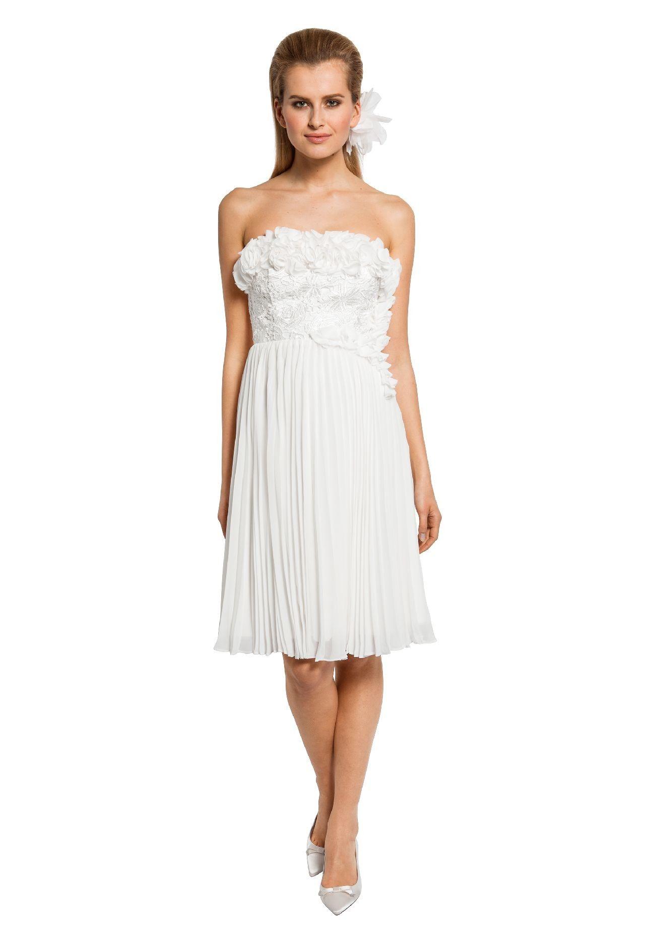 bandeaukleid   kleider, hochzeitskleid, modestil