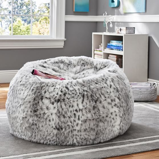 Gray Leopard Beanbag In 2019