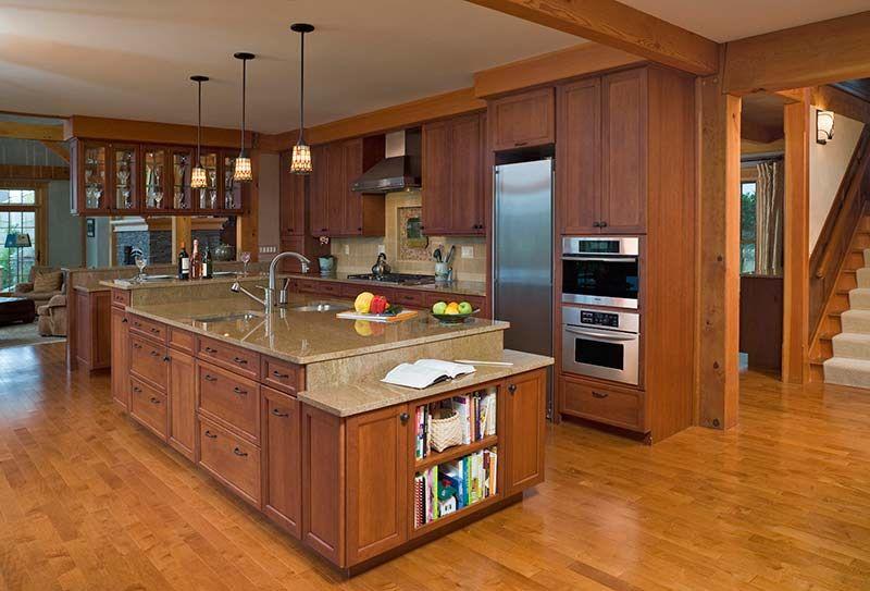 post-and-beam-kitchen.jpg 800×543 pixels   Jones Lake   Pinterest ...