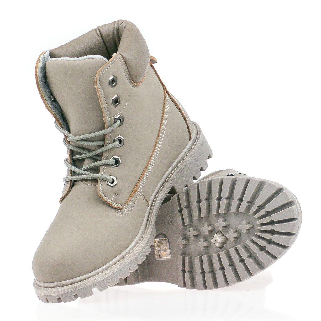 Ocieplane Timberki Damskie Khaki Hiking Boots Timberland Boots Boots