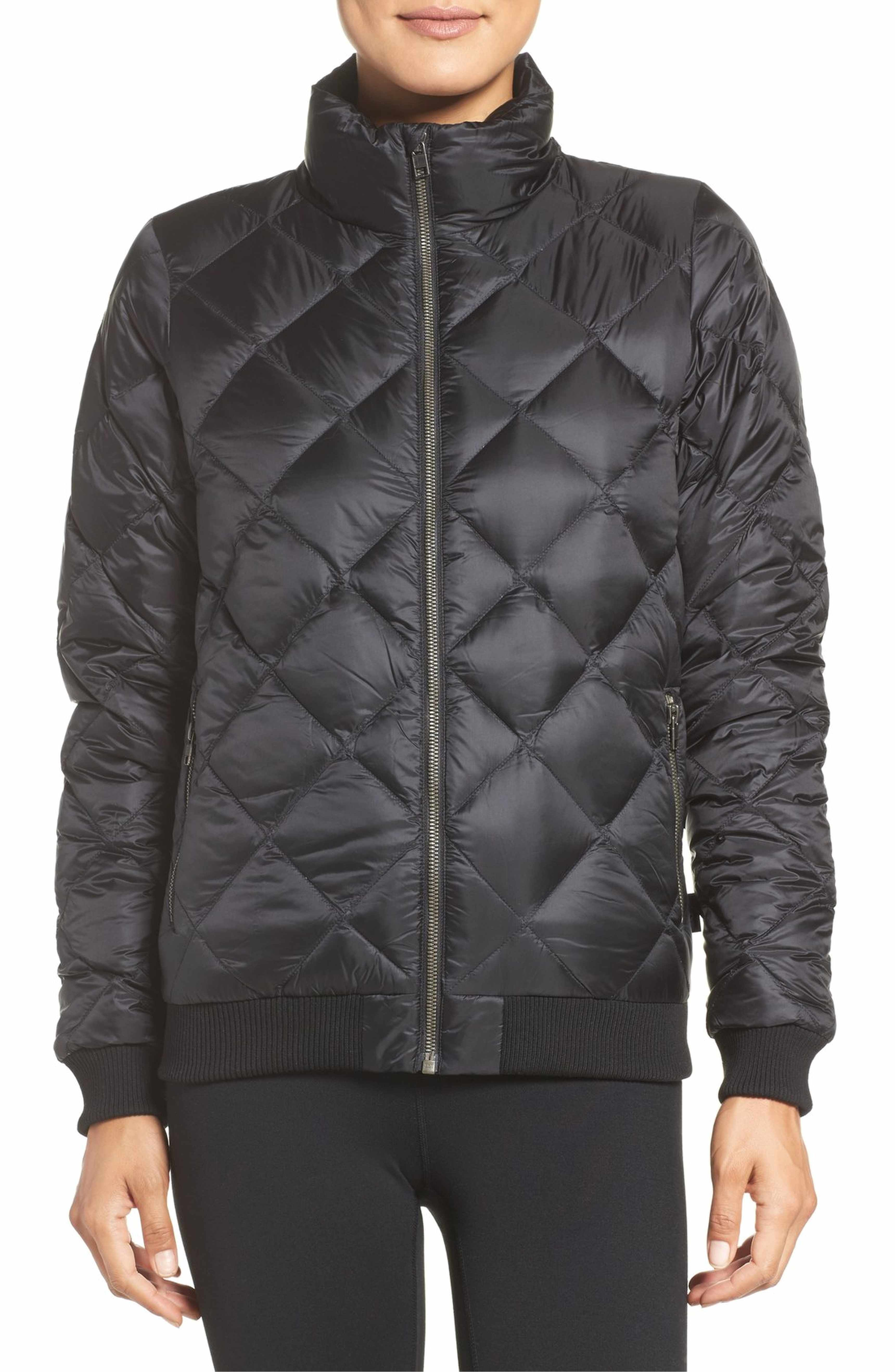 Patagonia Prow Down Bomber Jacket Nordstrom Jackets Bomber Jacket Women Bomber Jacket [ 5272 x 3440 Pixel ]