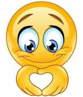 Smiley verliebtes Ballons Luftballons