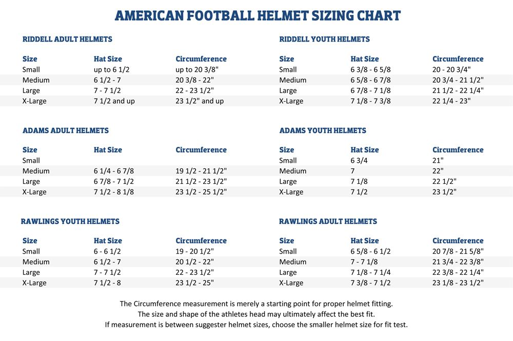 Riddell Youth Football Pants Size Chart In 2020 Youth Football Football Pants Football