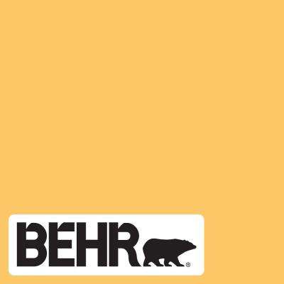 Behr Ultra 5 Gal Home Decorators Collection Hdc Sp16 05 Daffodil Extra Durable Semi Gloss Enamel Interior Paint Primer 375405 The Home Depot Gold Paint Colors Paint Colors Yellow Paint Colors