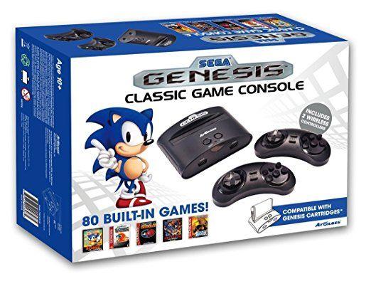 Atgames Sega Genesis Classic Game Console Sega Genesis Classic Classic Games Sega Genesis Games