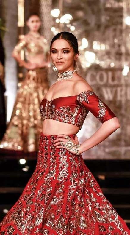 Bridal saree red deepika padukone 25+ ideas #bridal ...