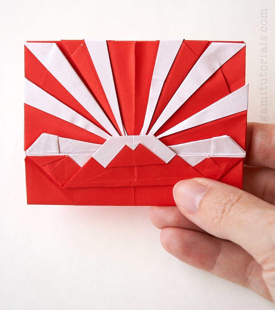 The Rising Sun Origami Tato Origami Tutorials Origami Tutorial Origami Envelope Origami