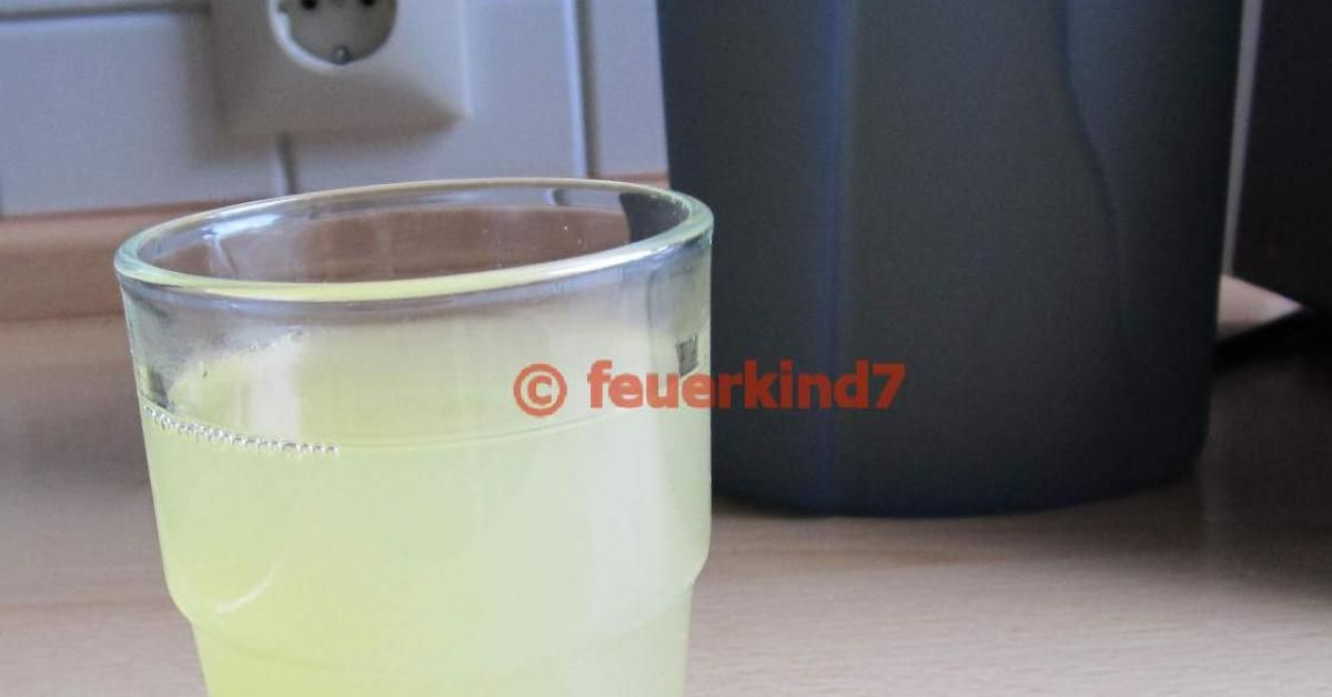 Elektrolyte-Trunk nach Durchfallerkrankung | Rezept ...