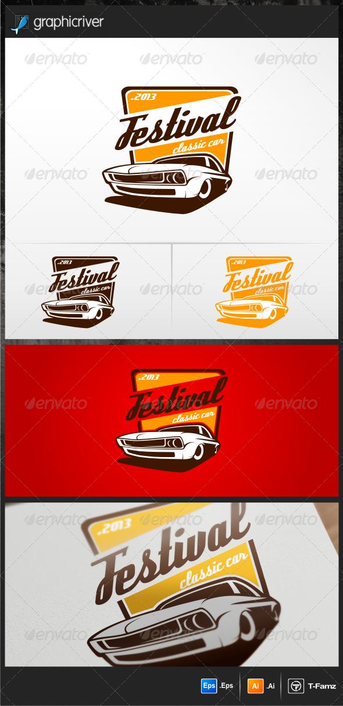 Festival Classic Car Logo Templates Car Logos Logo Templates