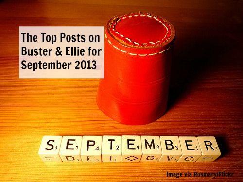 The Top Posts on Buster & Ellie for September