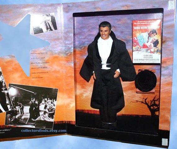New KEN as RHETT BUTLER,  Barbie Gone With The Wind Hollywood Legends, 12741, Mattel 1994 Edition, #hollywoodlegends