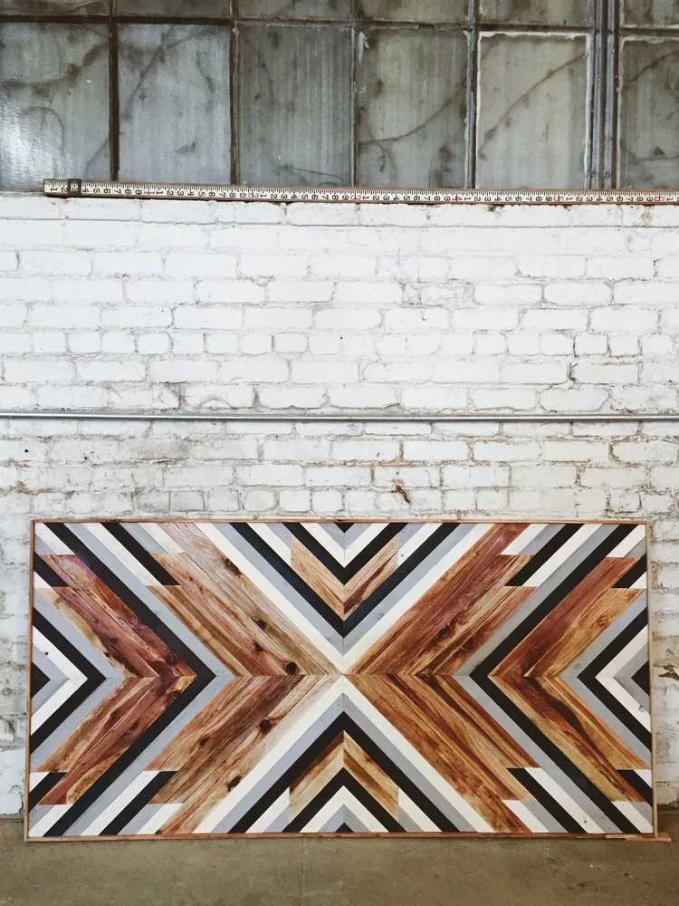 Wooden Wall Artwork by Aleksandra Zee seen at The Kimpton Buchanan, San Francisco