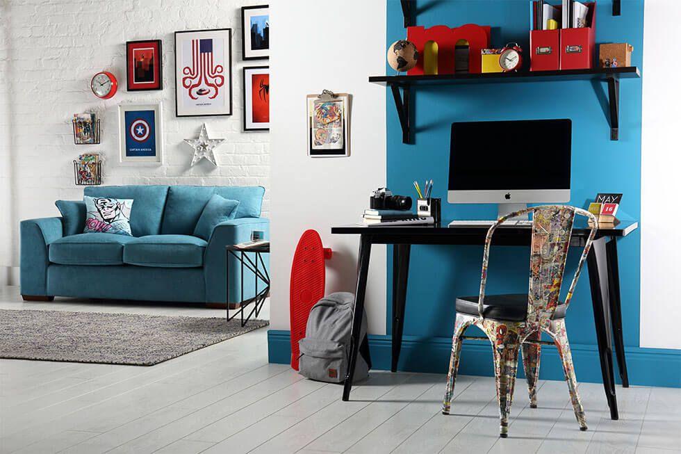 Style It Like A Superhero Furniture Choice Marvel Room Wall Decor Living Room Furniture Choice