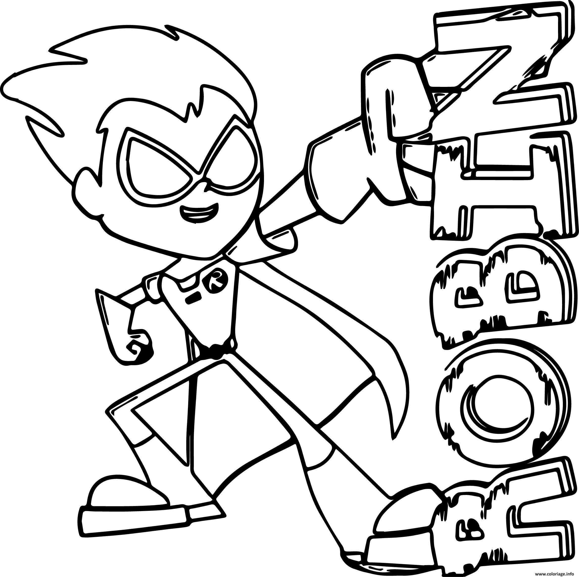 Super Hero Dessin