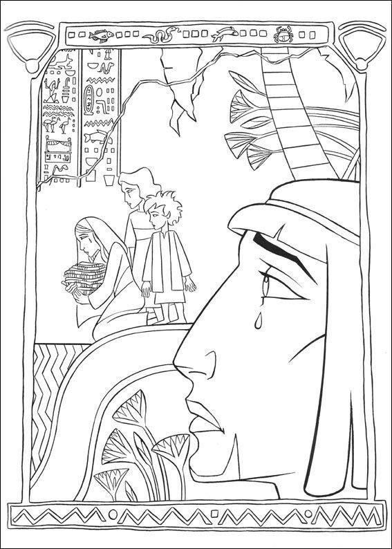 Coloring Page Prince Of Egypt Prince Of Egypt Prince Of Egypt