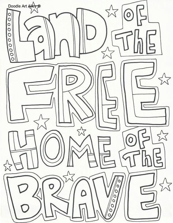 Pin By Dee Pouzol On Camp Fun Memorial Day Coloring Pages