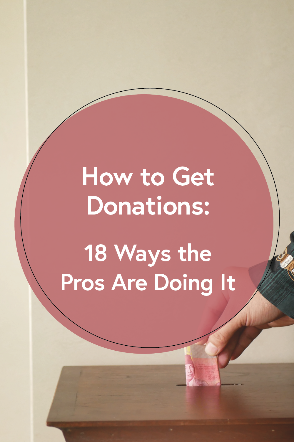 While charitable giving has actually increased 10% in the last year, so has the amount of effort it takes to get a donation. So, here is a list of 18 ways organizations have captured the attention of donors on the go and increased donations.
