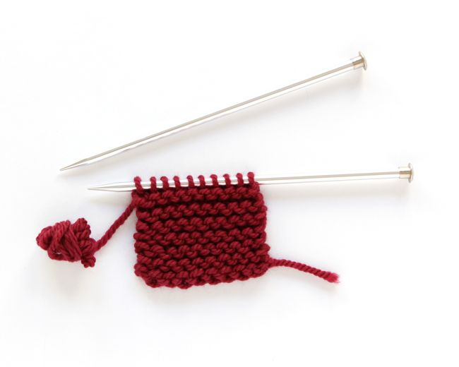 Learn how to count garter stitch rows with this beginner friendly ...