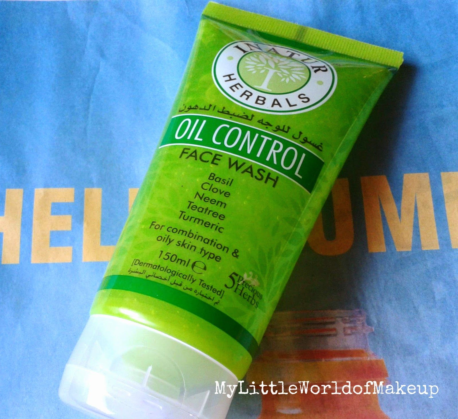 Inatur Herbals Oil Control Face Wash Review Face Wash Oil