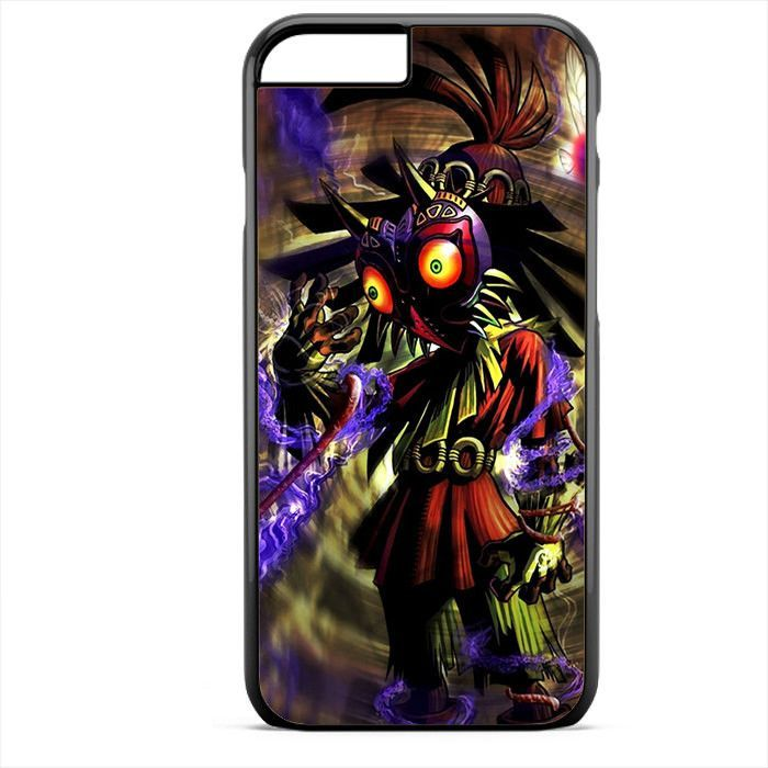 The Legend of Zelda Majora's Mask Art Apple Phonecase For Iphone 4/4S Iphone 5/5S Iphone 5C Iphone 6 Iphone 6S Iphone 6 Plus Iphone 6S Plus