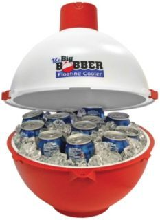 The Big Bobber Floating Cooler Turns A Pool Into Party What Great Idea And Gift Insulated Holds 12 Cans Ice It Really Floats