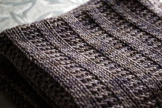 Experienced Beginner Garter Rib Baby Blanket Free Pattern